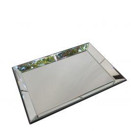 Rectangular Mirror Tray (large)