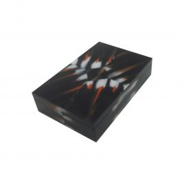 horn box in black L