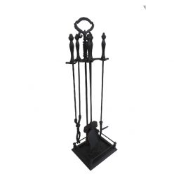 Cast Iron Fireplace Tool Set