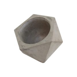 Small Cement Pot