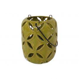 Green Ceramic lantern