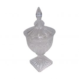 Decorative Glass Canister