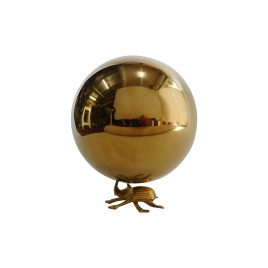 Golden metal decorative Ball