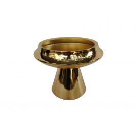 Gold Pedestal Bowl