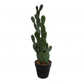 Artificial Desert Cactus w/ Pot