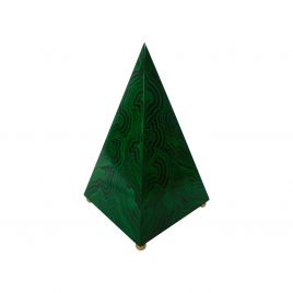 Decorative Malachite Pyramid