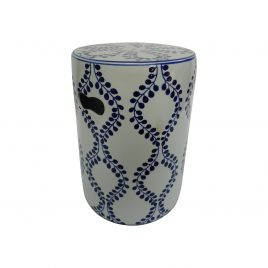 Caspian ceramic stool