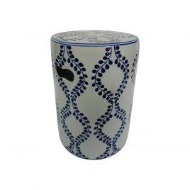 Caspian ceramic stool