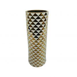 Golden pattern ceramic vase (L)