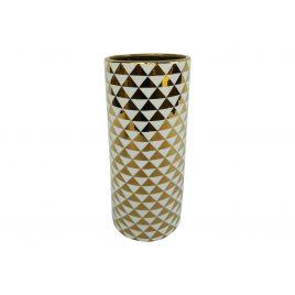 Golden pattern ceramic vase (S)