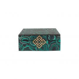 Agate Glass Jewelly Box (S)