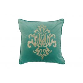 Medallion Velvet Throw Pillow