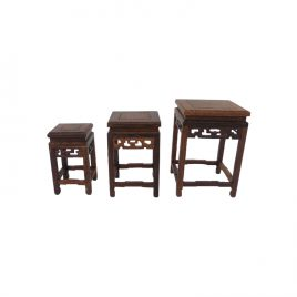 Miniature Antique side table (set)