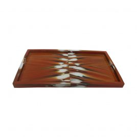 Horn tray in coffee L