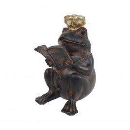 Frog w/ Golden Crown