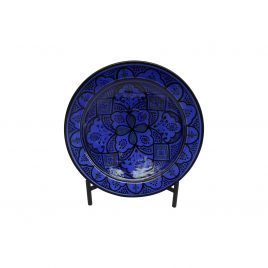Morocco Safi Platter with iron stand