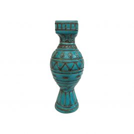 Blue Spirit Ceramic Vase