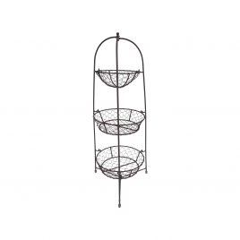Black Wired Basket (Large)