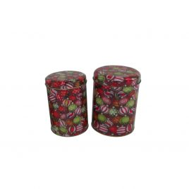 Colorful Metal Box (2 pcs/set)