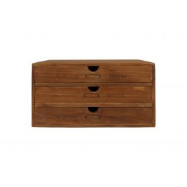 Small wooden drawer storage  (3 drawers)