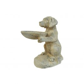 Dog Ceramic Garden Accent