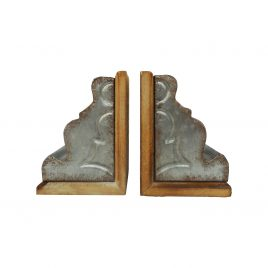 Marna Geode Bookends