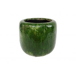 Green Firth Cupped Planter