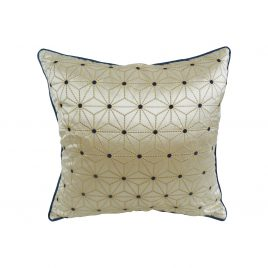 Gold Quilted Star Pillow