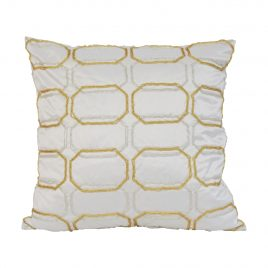 Gold Silver Beads Pillow