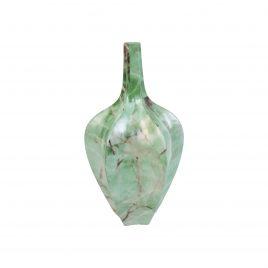 Green Marble Ceramic Vase (Medium)