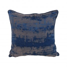 Royal Blue Wave Pillow