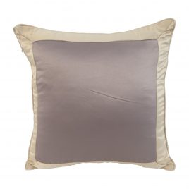 Pillow Case Gray & light brown color