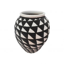 Painted African Vase (Large)
