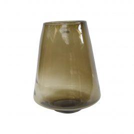 Mastard Glass Vase