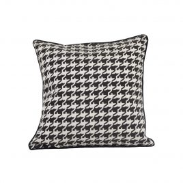 Houndstooth Pattern Pillow
