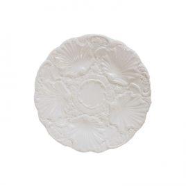 White Caramic Plate