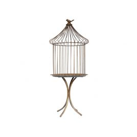 Bird Cage Antique Brass
