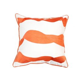 Redish Wave Pillow