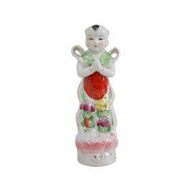 Ceramic China child doll