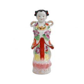 Ceramic China girl doll