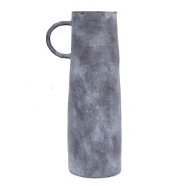 Matted Grey Ceramic Pitcher (L)