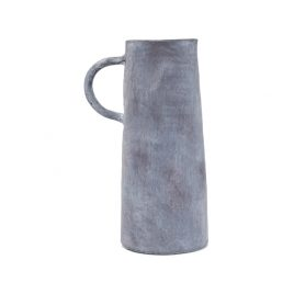 Matted Grey Ceramic Pitcher (S)