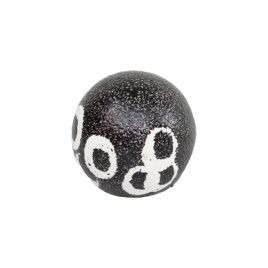 Black and White Stonewear Ball