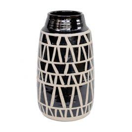 African pattern Ceramic Vase
