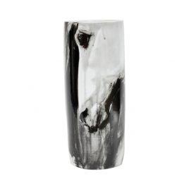 Wild Horses Free Hand Painted Vase