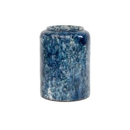 Firth Blue Round Vase