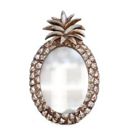 Silver Pineapple Photo Frame