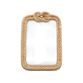Golden Rope Photo Frame