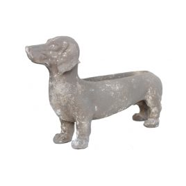 Manon Sausage Dog Planter