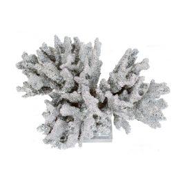 Silver Faux Finger Coral
